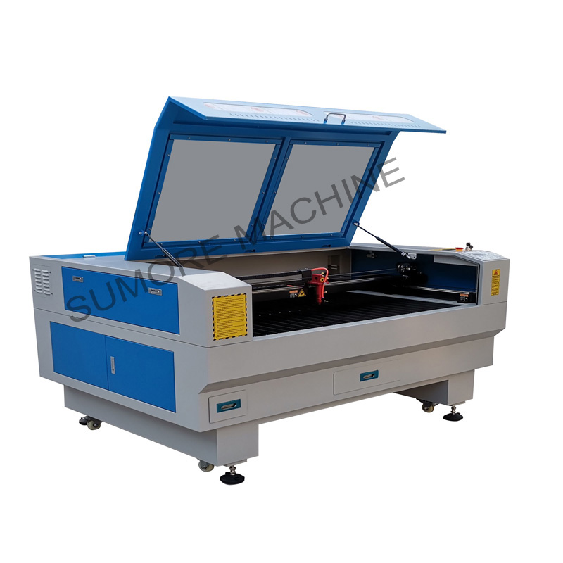 CNC CO2 laser cutting engraving machine with table size 1300x900mm SP1390N