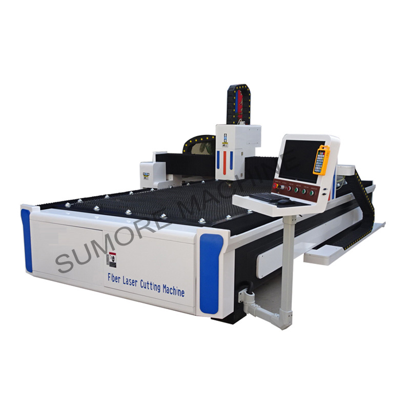 CNC fiber laser cutting machine with table size 1500*3000  SPF1530