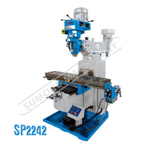 High quality vertical turret milling machine with competitive price SP2242