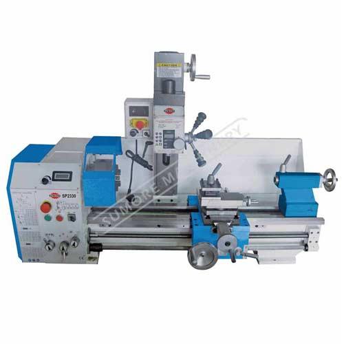 مخرطة آلة طحن آلة السرد متعددة الأغراض مخرطة مع SP2330 شهادة CE