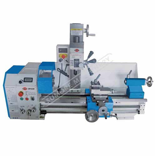 Máquina combinada de usos múltiples de torno fresadora torno con SP2330 certificado CE