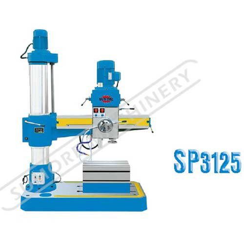 Metal radial drilling machine for factory sale SP3125