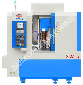 SLM45 CNC lathe mill combo GSK control
