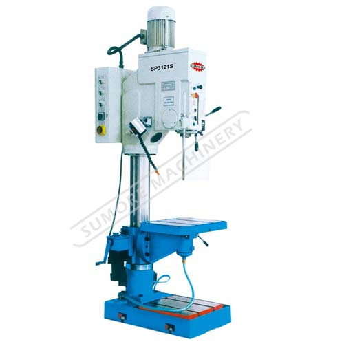 Medium size pillar type vertical drilling machine for sale SP3121S