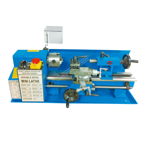 SP2102 diy hobby mini lathe machine for metal and wood with DRO