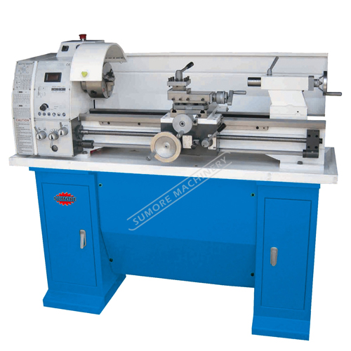 SP2129 China variable speed bench lathe machine with 38mm bore