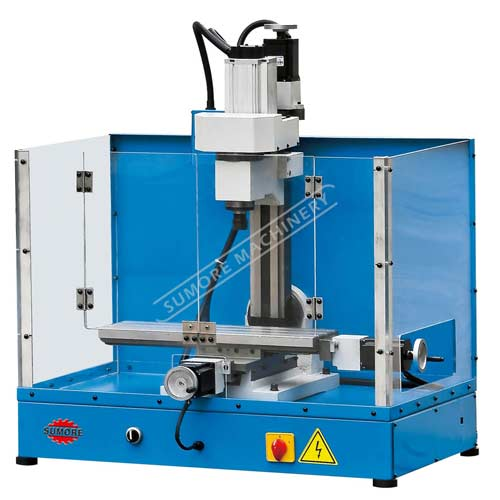 SP2227 mini CNC milling machine