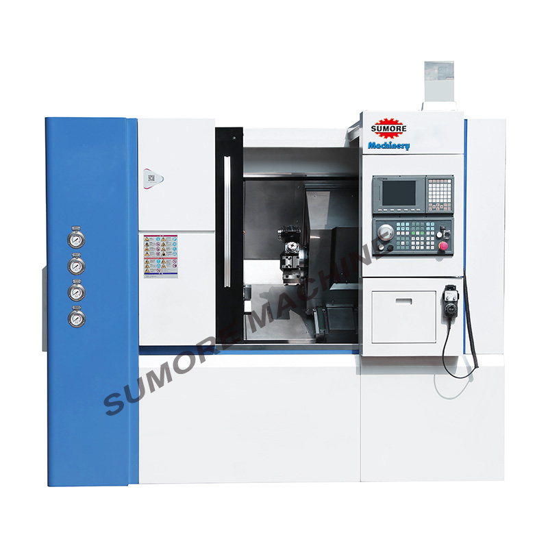 STC400E 3-Axis Slant Bed CNC turning center lathe