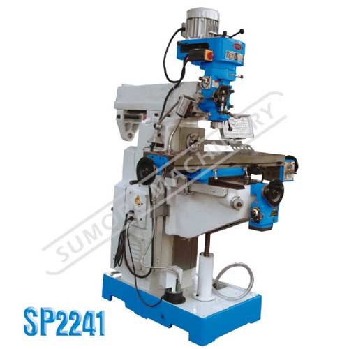 Vertical e Horizontal chato e Milling Machine SP2241