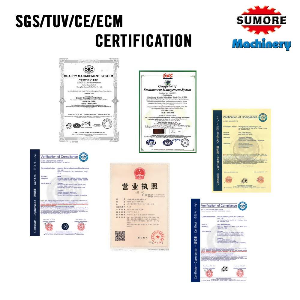 اس جي اس / TUV / CE / ECM شهادة