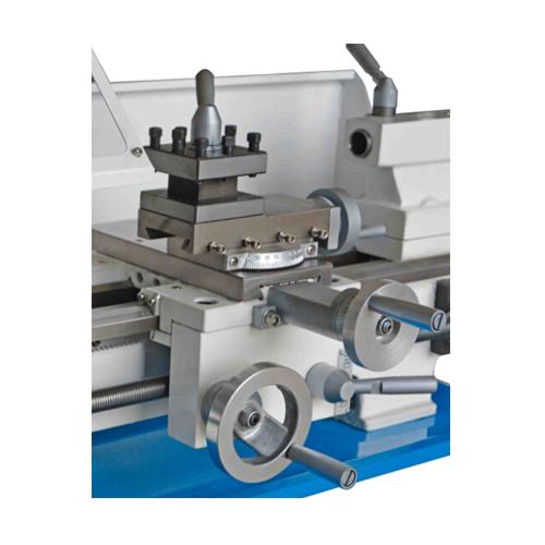 SP2108B Mini torno de banco de máquina de bricolaje para el metal / madera con accionamiento por correa