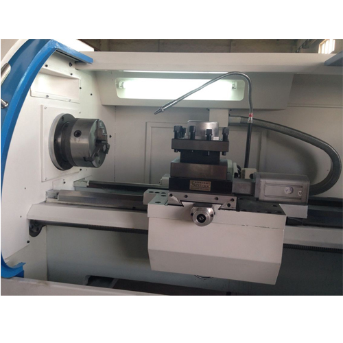 SP2117 sumore industrial cnc lathe machine with 6-way tool post