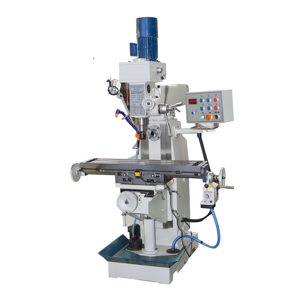 SP2232V vertical milling machine with variable speed
